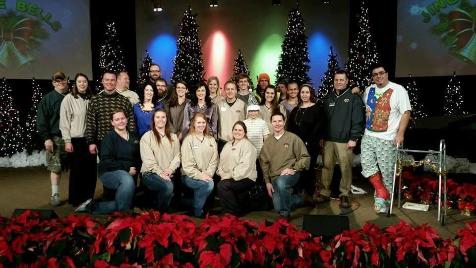 jingle bells workers 2015