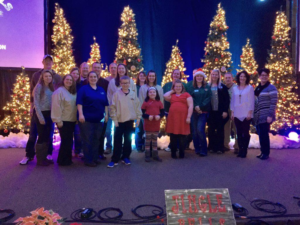 jingle bells staff 2016